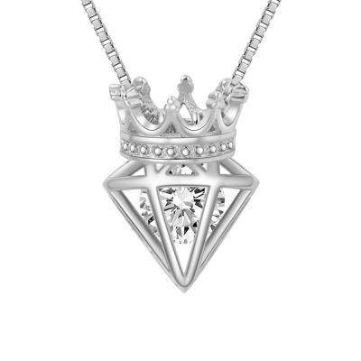 HKGOLD香港黄金A01-A02女王皇冠项链